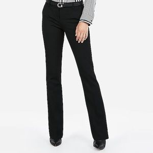 EXPRESS Columnist Barely Boot Mid Rise Pants, 00S